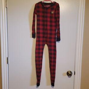 Lazy One One Piece Pajamas Buffalo Plaid - 8
